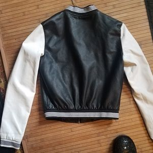 look Jackets & Coats - HOT FAUX LEATHER BOMBER
